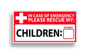 Child Rescue Sticker