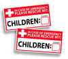 Children Rescue Stickers