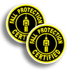 Fall Protection Stickers