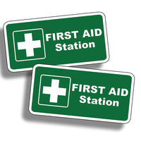 First Aid Station Sticker Decal