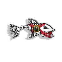 Florida FL Bone Fish Sticker