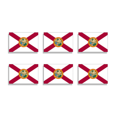 Mini Florida State Flag Sticker