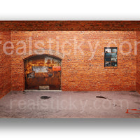 Complete Rustic Brick Wall Scale Display Pack