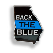 Georgia State Back the Blue Sticker
