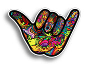 Graffiti  Hang Loose Sticker
