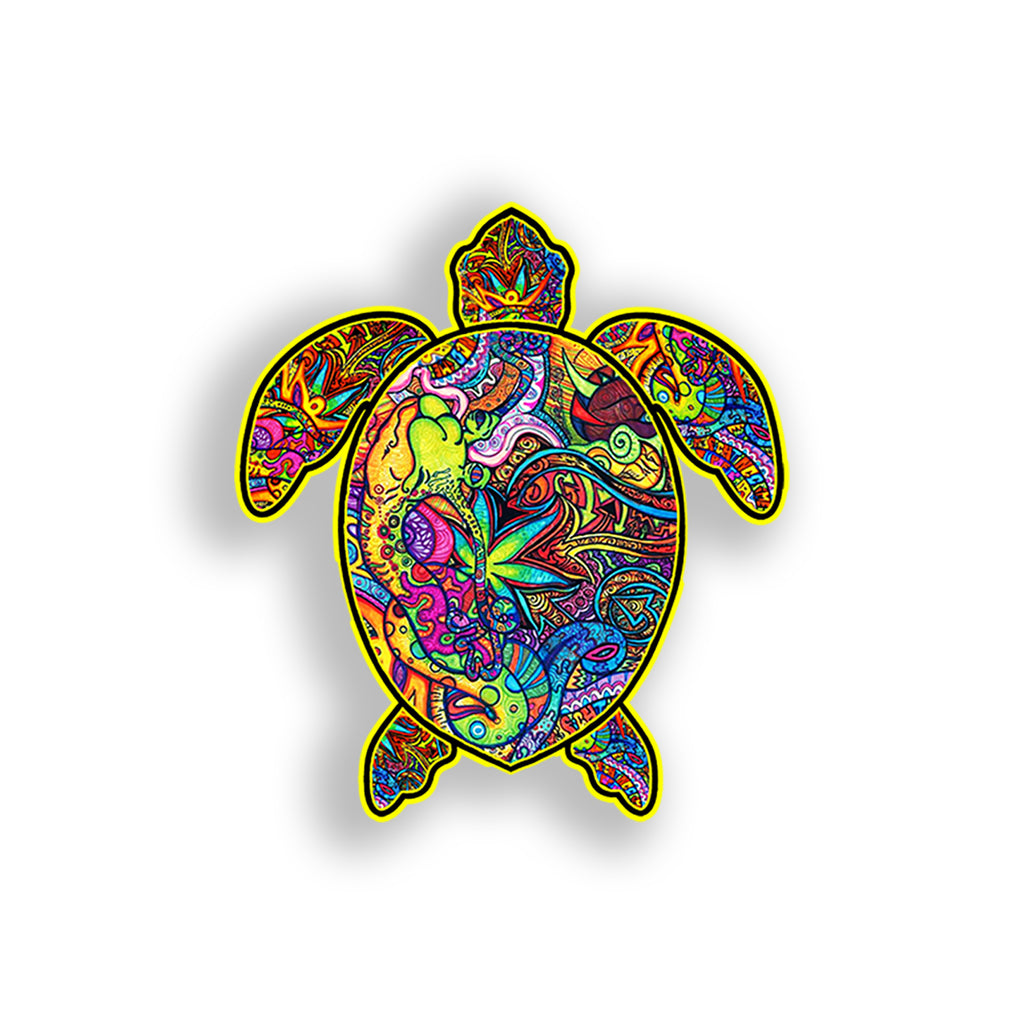 Graffiti Turtle Sticker