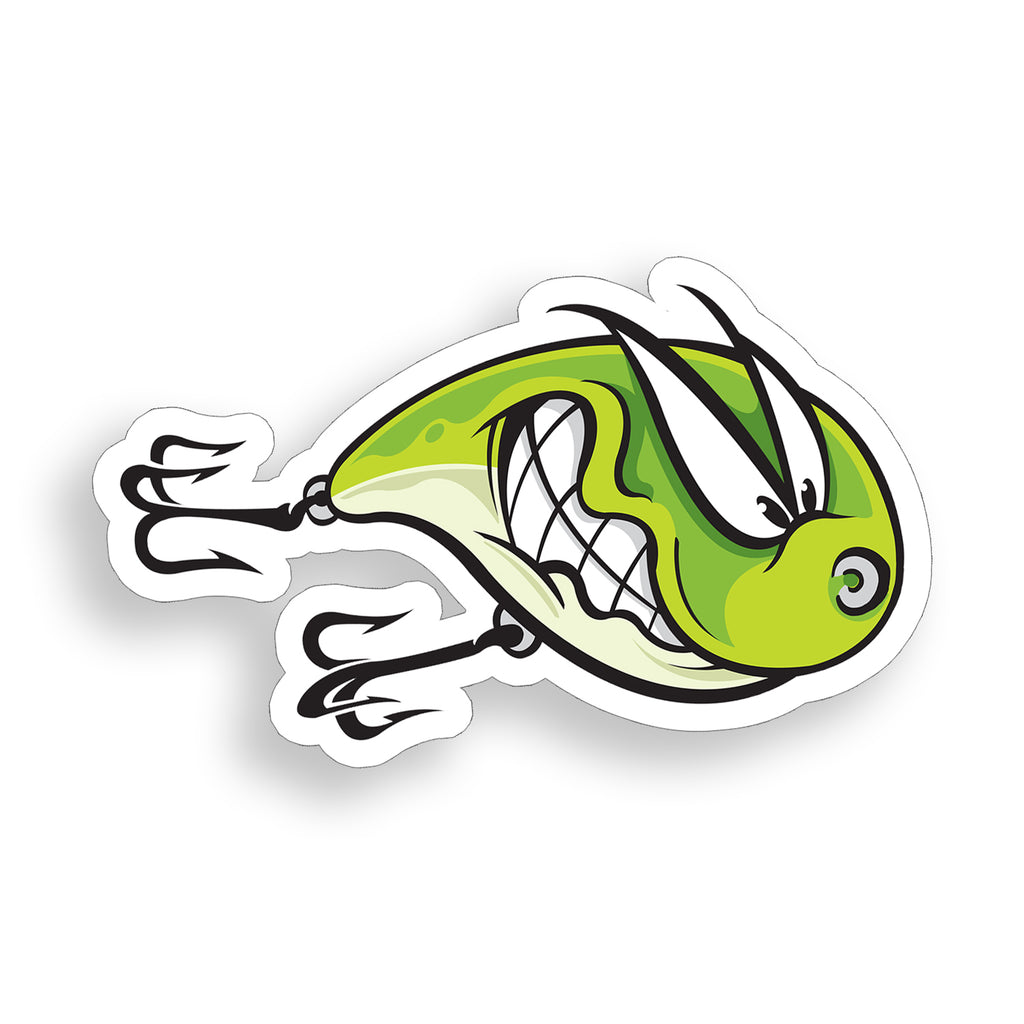 Angry Lure Sticker