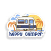 Happy Camper Palm Tree Trailer Sticker