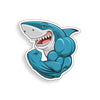 Muscle Shark Sticker