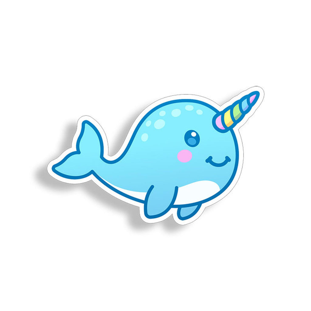 Narwhal Unicorn Sticker