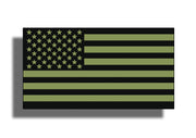 OD Green USA Flag Sticker