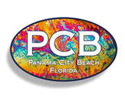 Panama City Beach Lava Oval