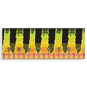 "40"" Peacock Bass scale Fish Ruler Sticker"