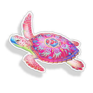 Tribal Sea Turtle
