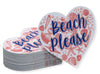 Beach Please - Pink and Navy