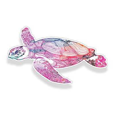 Watercolor Sea Turtle