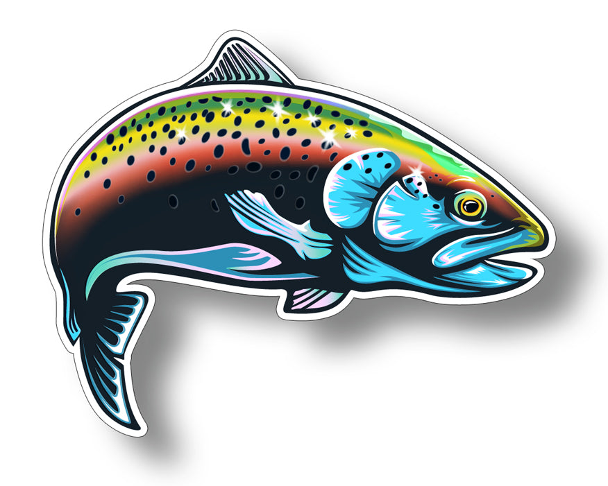 Rainbow Trout Sticker