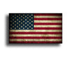 Mini Rustic American Flag Sticker