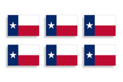 Mini Texas State Flag Sticker