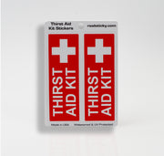 Thirst Aid Sticker