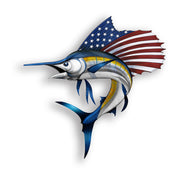 USA Sword Fish Sticker
