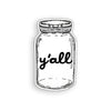 Y'all Jar Sticker