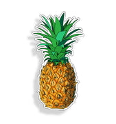 Yellow Pineapple Sticker