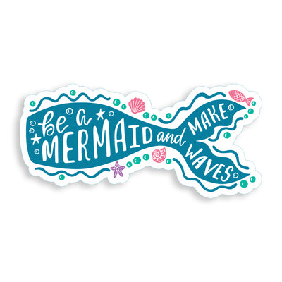 Be a Mermaid Sticker