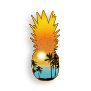 Pineapple Beach Scene Sticker