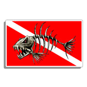 Bone Fish Scuba Diving Sticker