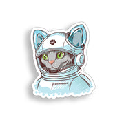 Astronaut Cat Sticker