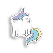 Cat Unicorn Sticker