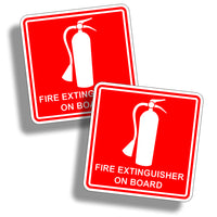 Fire Safety Sticker Decal