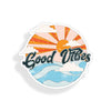 Good Vibes Ocean Sticker