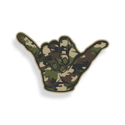 Camo Hang Loose Sticker