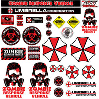 RC Zombie Outbreak Scale Sheet