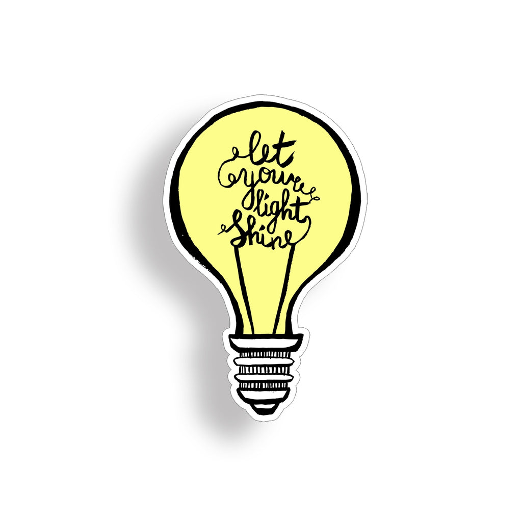 Let your light shine Sticker