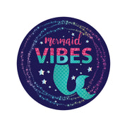 Mermaid Vibe Circle Sticker