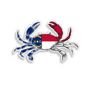 North Carolina Crab Sticker
