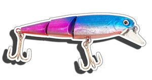 Purple Crank Bait Sticker