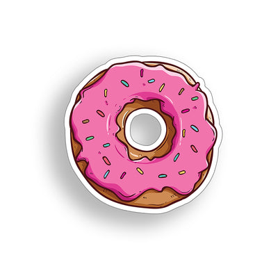 Donut Sticker 4 inch