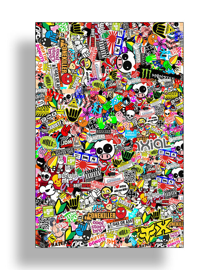 Graffiti RC Scale Sheet