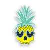 Pineapple Skull with Sunglasses Sticker