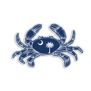 South Carolina Crab Sticker