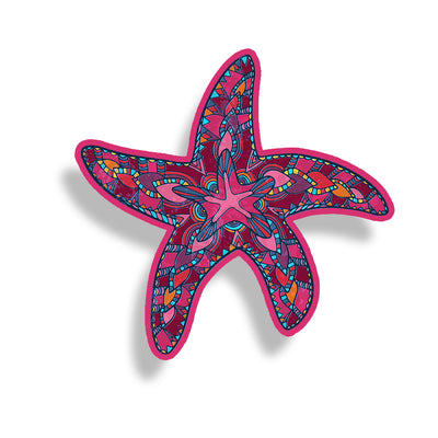 Pink Starfish Sticker