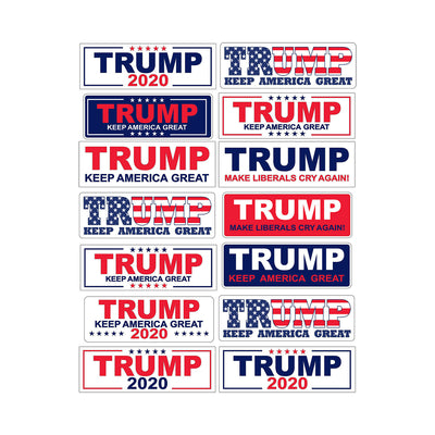 Trump Scale Bumper Stickers
