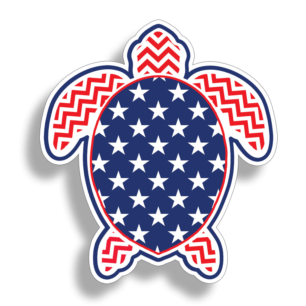 Stars and Stripe Sea Turtle