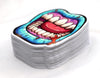 Zombie Mouth Lips Sticker