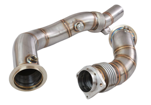 "S55 M3 M4 M2CS 3"" Catless Downpipes"