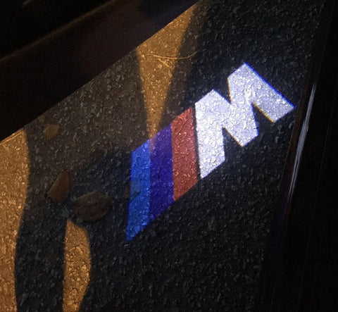BMW M Door Welcome Lights